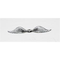 Garage Sale - Big Feather Radiator Wing, Chrome