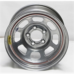Garage Sale - Bassett D-Hole IMCA Approved 15 Inch Wheel, 15x8, 5 on 4-3/4, 4 Inch BS