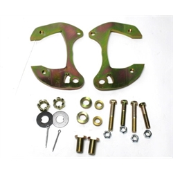 Garage Sale - Basic Disc Brake Kit, 1955-64 Chevy Fullsize Car, Stock Spindle