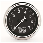 Auto Meter 1797 Old Tyme Black Air-Core In-Dash Tachometer, 2-1/16