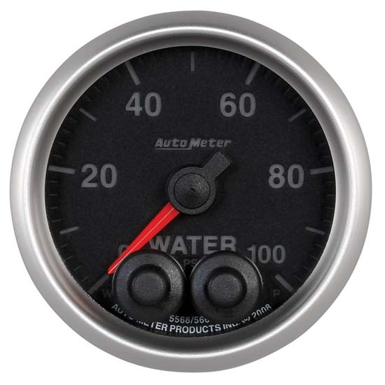 Auto Meter 5668 Elite Digital Stepper Motor Water Temperature Gauge