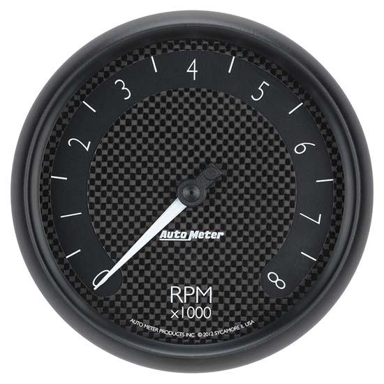 Auto Meter 8098 GT Air-Core In-Dash Tachometer Gauge, 5 Inch