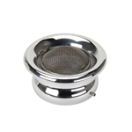 OTB Gear 4030 Stromberg Bug Horn Air Filter Housing, Polished