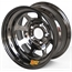 Aero 52-984740BLK 52 Series 15x8 Wheel, 5 on 4-3/4 BP, 4 Inch BS IMCA