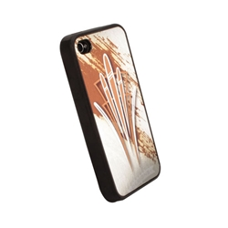 Garage Sale - Pinstriped iPhone Cover - Gold
