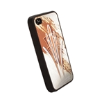 Pinstriped iPhone Cover - Gold