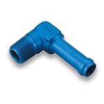 Earls 984210ERL Blue 90 Degree 5/8 Inch Hose to 1/2 In NPT Male Elbow