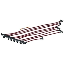MSD 31549 Sprint Car Spark Plug Wires Set, Tight-Fit