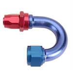 Fragola 231813 180 Degree Adapter Hose End Fitting, -16 AN to -12 AN