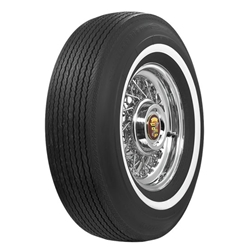 Coker Tire 62857 BF Goodrich 7/8 Inch Whitewall Tire, J78-15