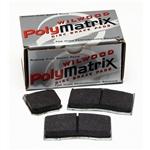 Wilwood 15E-6101K 7520 PolyMatrix E Brake Pad Set, GN III, .80 In