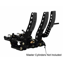 Wilwood 340-12411 Floor Mount Brake/Clutch/Throttle Pedal Assembly