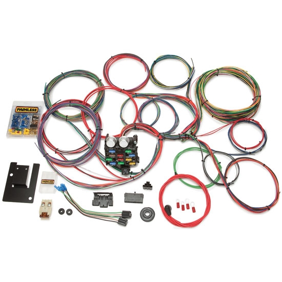 painless wiring 20107 1955 1957 chevy 21 circuit wiring harness painless wiring 20107 1955 1957 chevy 21 circuit wiring harness