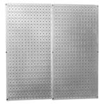 Metal Pegboard Tool Organizer, 32 x 32 Inch Wall Control Storage System