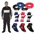 Speedway One Piece Racing Suit Combo