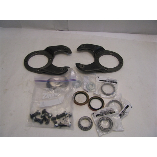 Garage Sale - Brake Kit: 1978-88 GM Caliper To Early Ford Spindle, Ford B-P