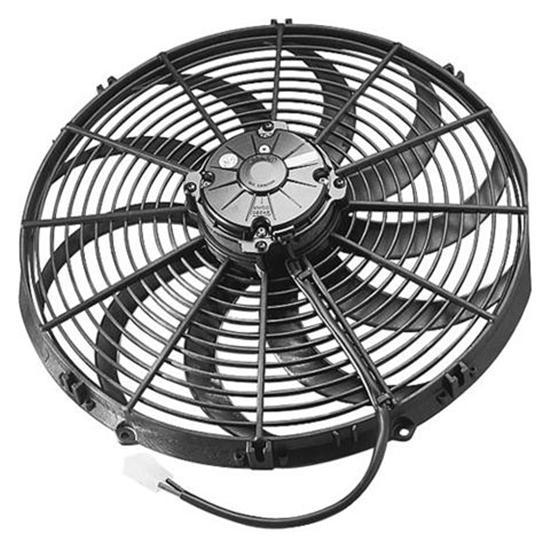 16 Blade Fan : Garage sale spal inch curved blade fan