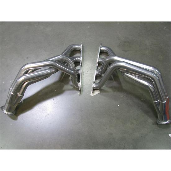 94 S10 Sbc Fenderwell Headers ~1994 Mustang With 351