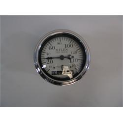 Garage Sale - Stewart Warner Individual Electric Speedometer, White Face