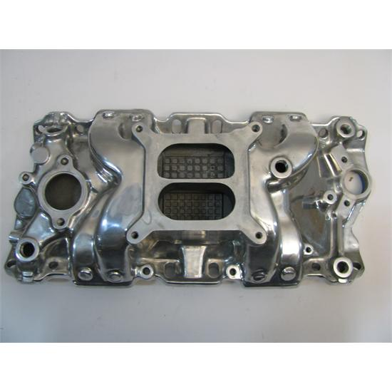 Garage Sale - Power+Plus Typhoon Small Block Chevy 1957-86 Manifold, Polished