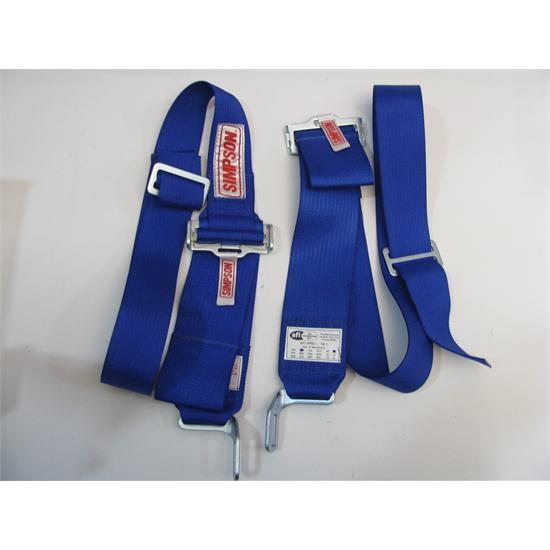 Garage Sale - Simpson Hans Device Latch Belts, Blue