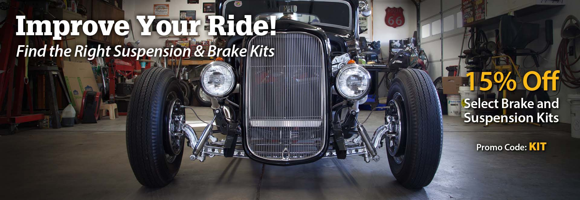 Find the Right Suspension & Brake Parts!