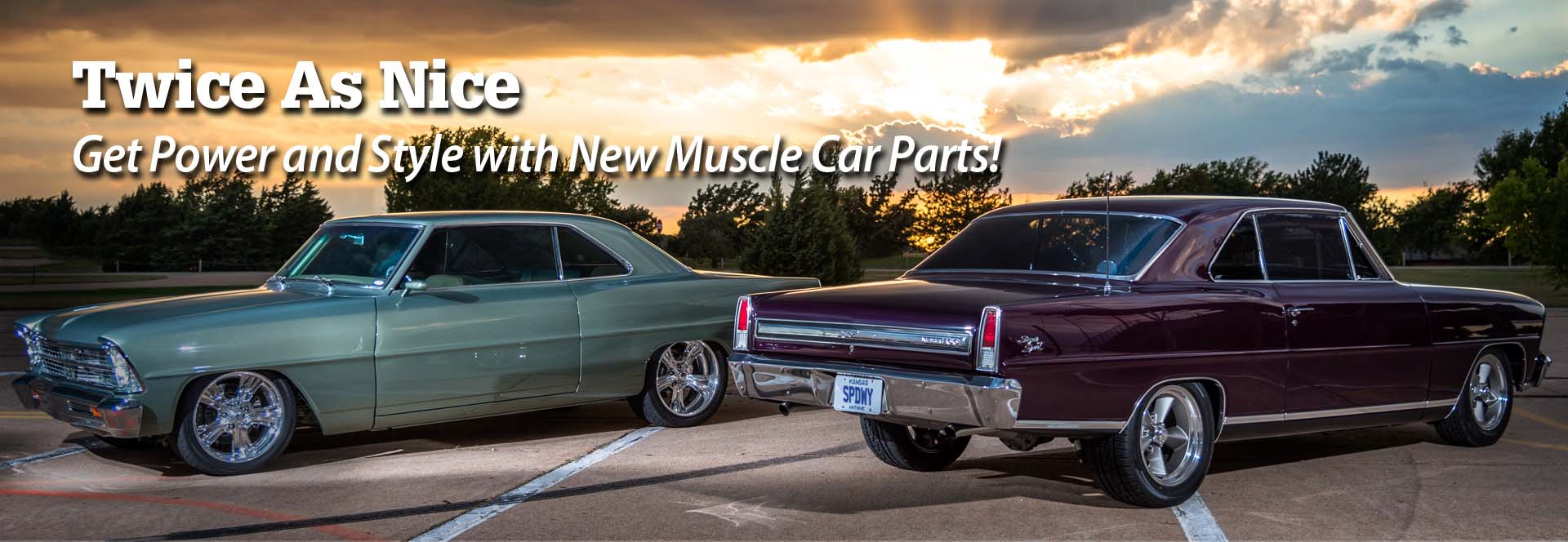 Shop Muscle Car Parts