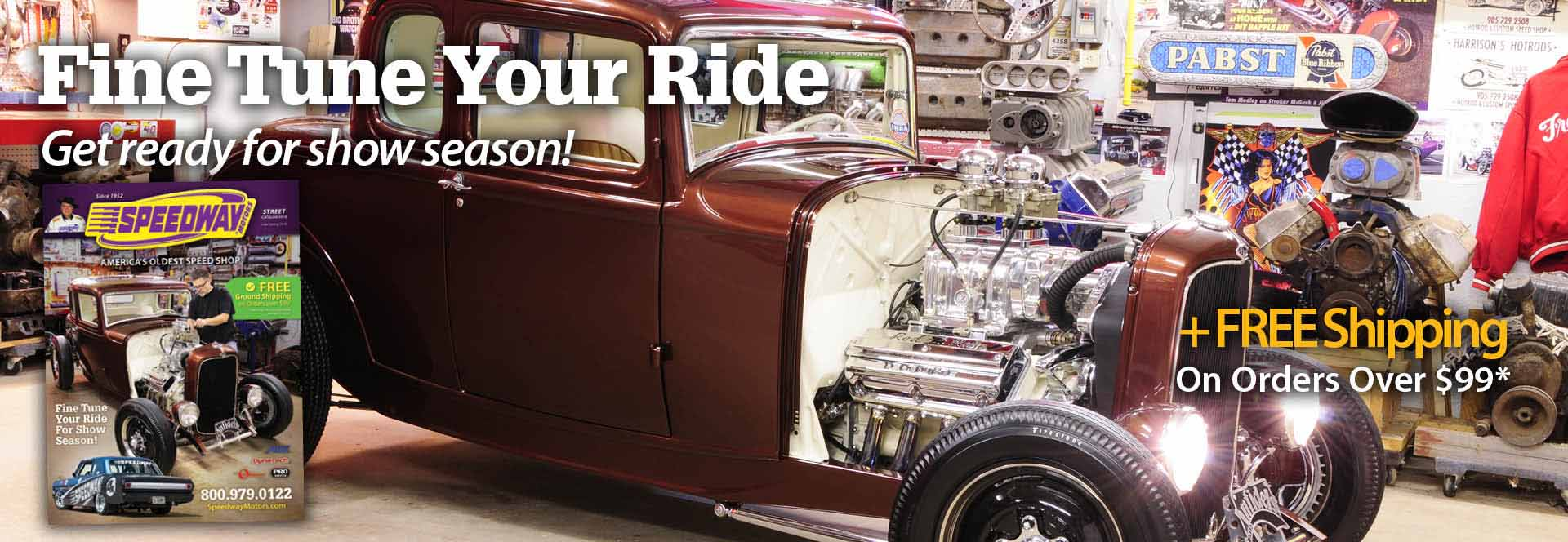 Speedway Motors offers promo codes often. On average, Speedway Motors offers 25 codes or coupons per month. Check this page often, or follow Speedway Motors (hit the follow button up top) to keep updated on their latest discount codes. Check for Speedway Motors' promo code exclusions/5(10).