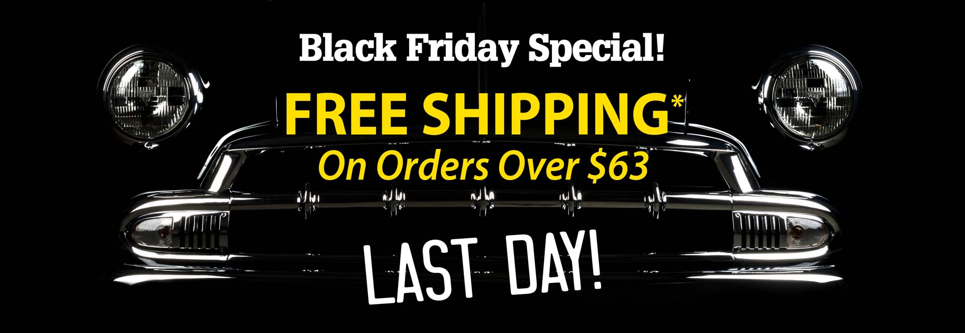 Free Shipping On Purchases Over $63