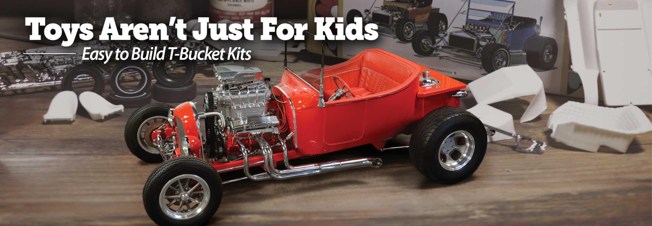 Easy to build T Bucket kits