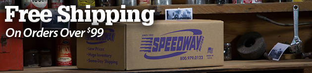 Speedway Motors Free Shipping on Orders Over $99