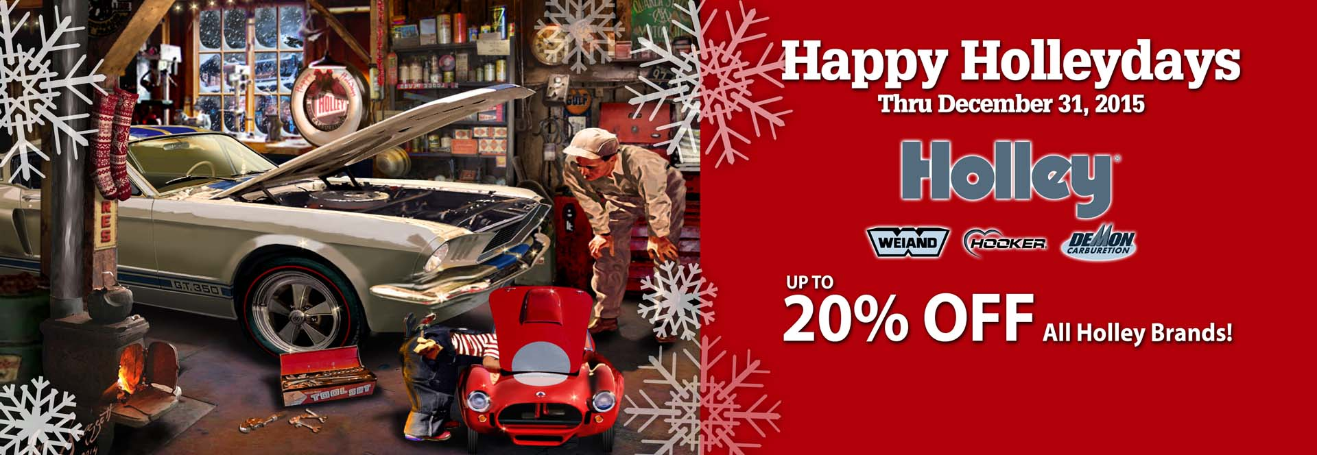 Save Up To 20% On Holley Products!