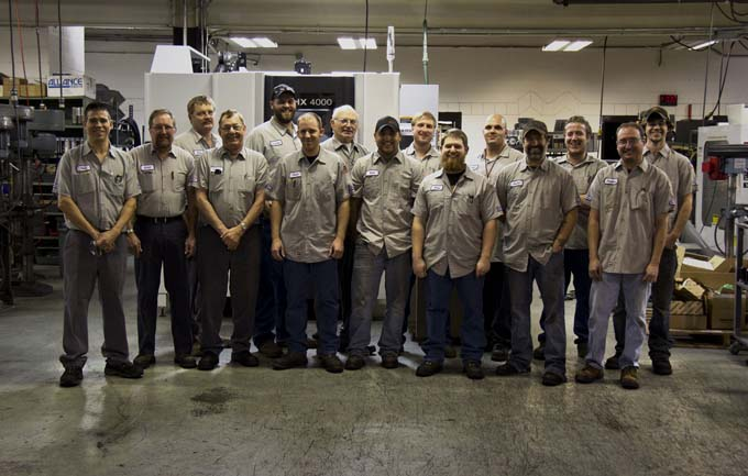 Speedway Motors Machine Shop Team