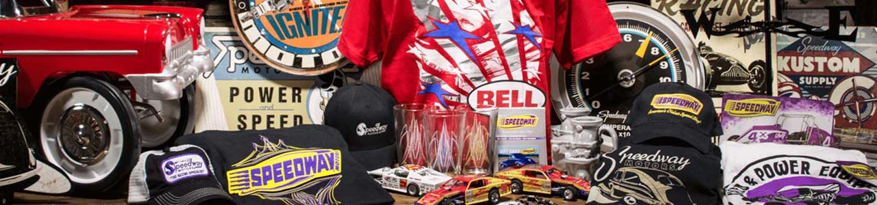 Shop Apparel and Gifts at Speedway Motors