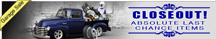 Shop Closeout Items At Speedway Motors