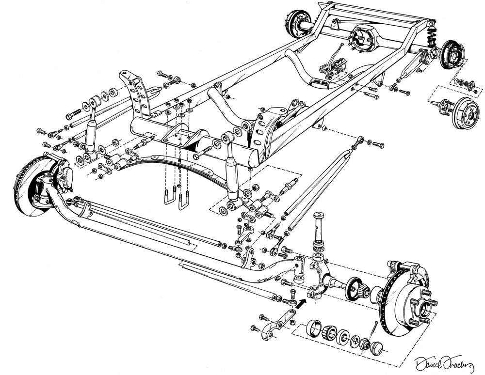 1923 t bucket front suspension diagram for of  1923  get