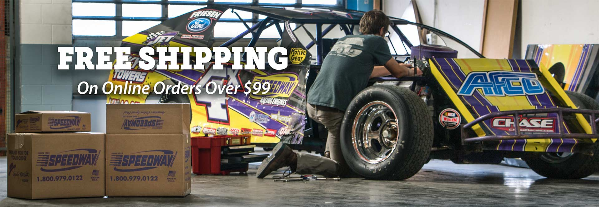 Free Shipping On Online Order Over $99