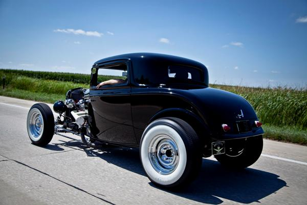 32 Ford Street Rod Parts : Common overheating cures