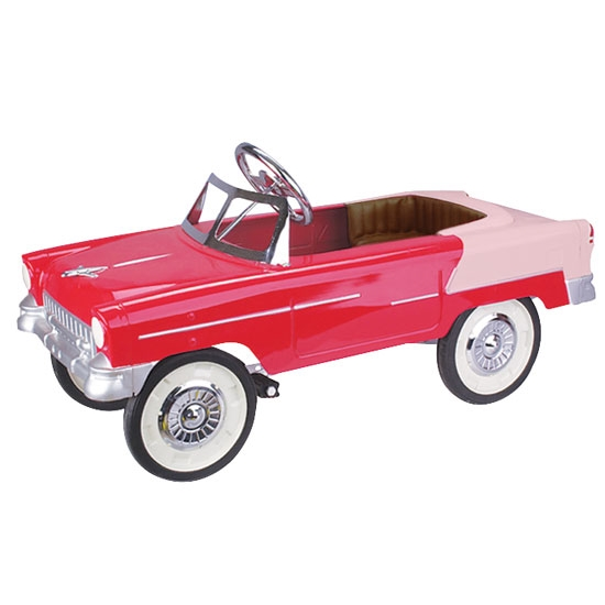 1955 Chevy Red Pedal Car Free Shipping Speedway Motors
