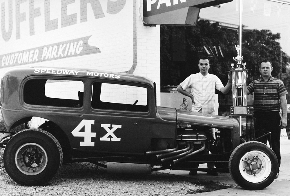 Lloyd Beckman and the Dominant 4x Sedan