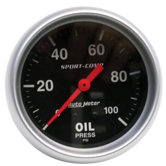 2 5/8 Oil Pressure Gauge