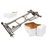 Basic 1923 T Frame Kit w/ Deluxe Body & Bed, Flat Floor