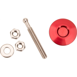Quik-Latch QL-25-RD Red Anodized Universal Quick Release Latch