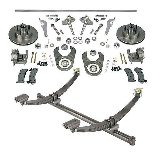 gasser straight axle  ford spindle and brake kits  58 4