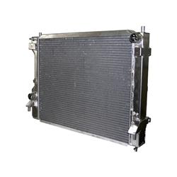 afco 81281z 2005 09 mustang gt aluminum radiator polished. Black Bedroom Furniture Sets. Home Design Ideas