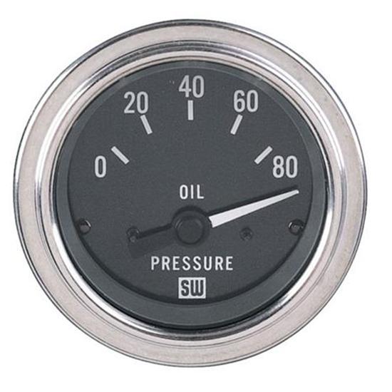 Stewart Warner Oil Pressure Gauge