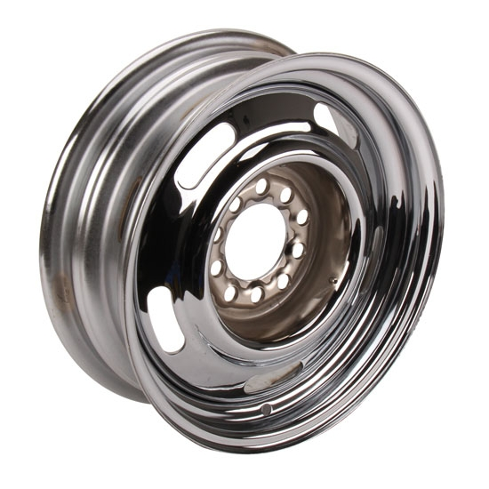 Speedway Gm Style 15 Inch Rally Wheel 4 5 And 4 75 Inch