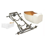 Nostalgia 1923 T-Bucket Frame Kit w/ Standard Body/Bed, Unchanneled Floor