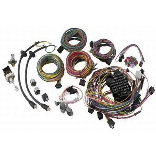 57 Chevrolet Truck Wiring Diagram: American Autowire 500423 1955-1956 Chevy Wiring Harness