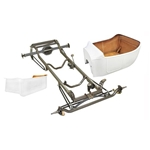 Nostalgia 1923 T-Bucket Frame Kit w/ Deluxe Body/Bed, Channeled Floor